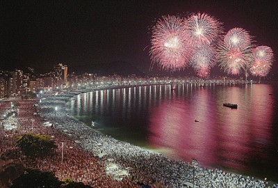 New Year's Eve in Copacabana